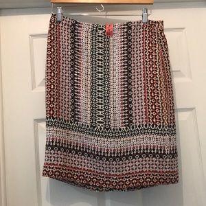 J. Crew Silk Pencil Skirt
